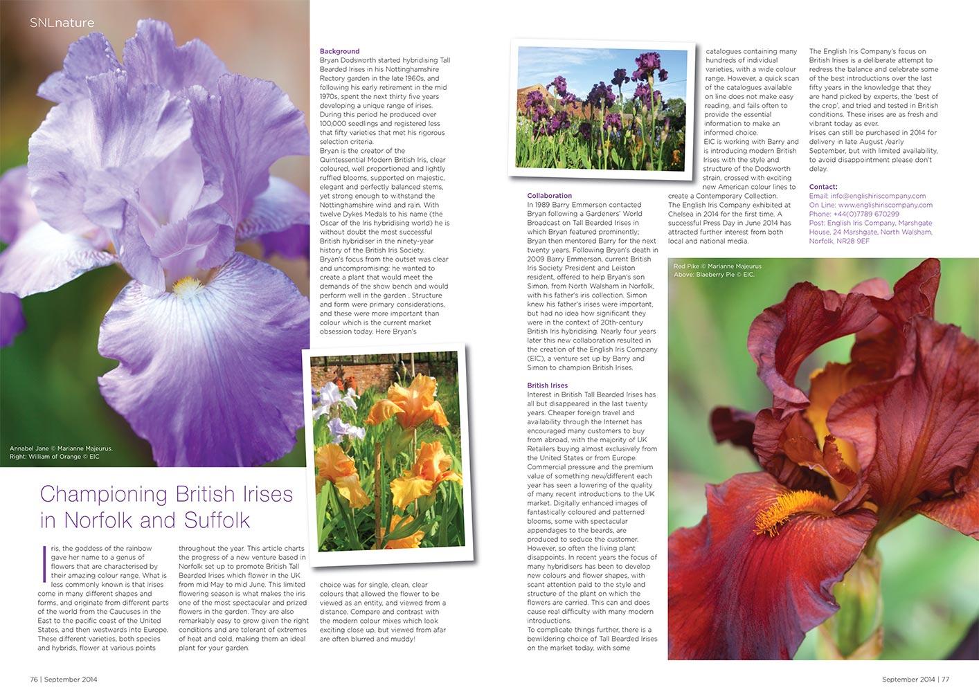 Norfok Suffolk Life Article September 2014