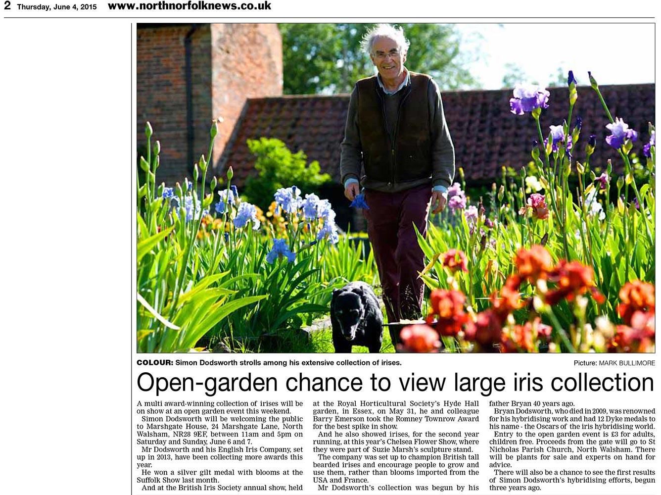 Garden Open 2015 North Norfolk News